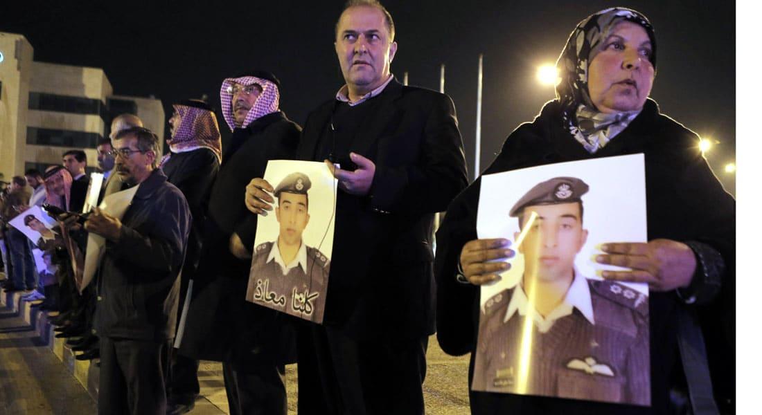 """الأردن.. مهلة داعش انتهت ووالد الكساسبة يناشد التنظيم والروابدة: كل جندي """"مشروع شهيد"""""""