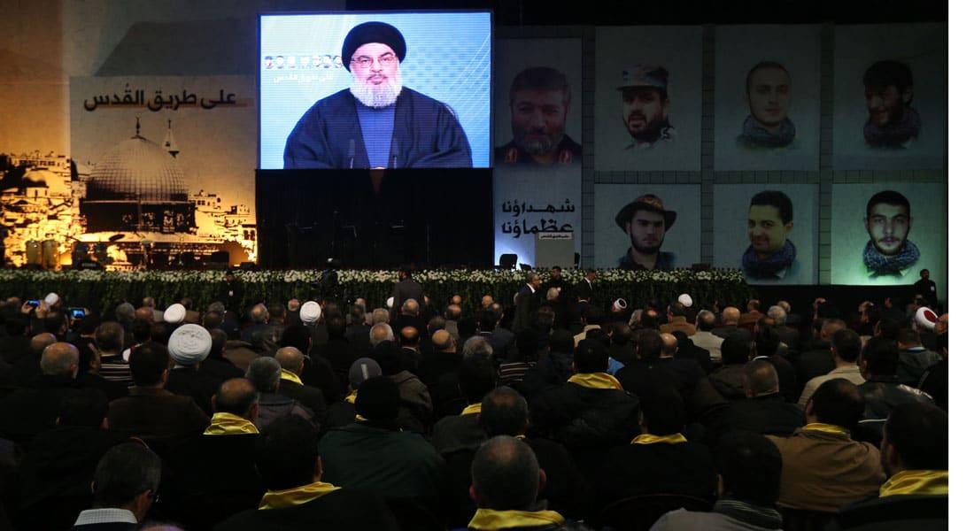 """نصر الله: إسرائيل ترعى """"جبهة النصرة"""".. """"عملية شبعا"""" رد على """"القنيطرة"""" وسنرد على أي اغتيال"""