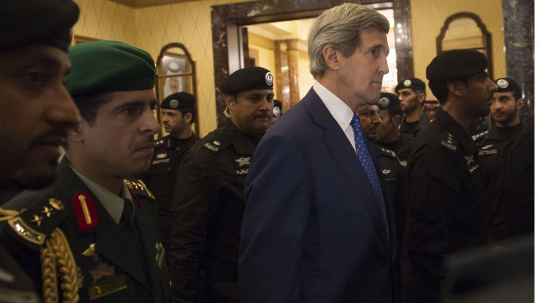تغريم وزير الخارجية الأمريكي 50 دولاراً حين كان مع أوباما في السعودية