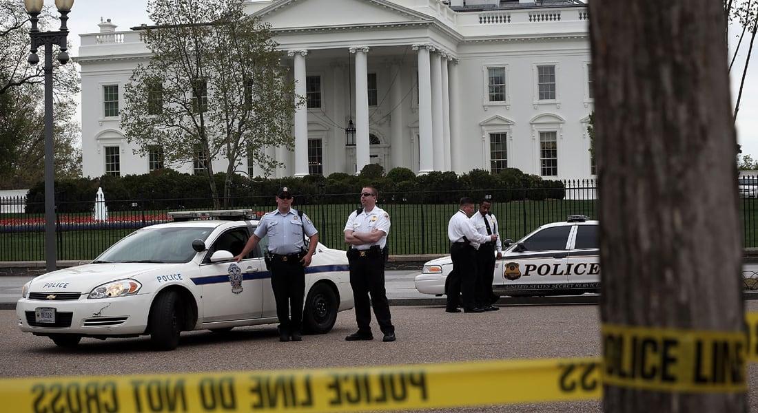 أمريكا: اعتقال شخص حاول القفز من على حاجز أمام البيت الأبيض