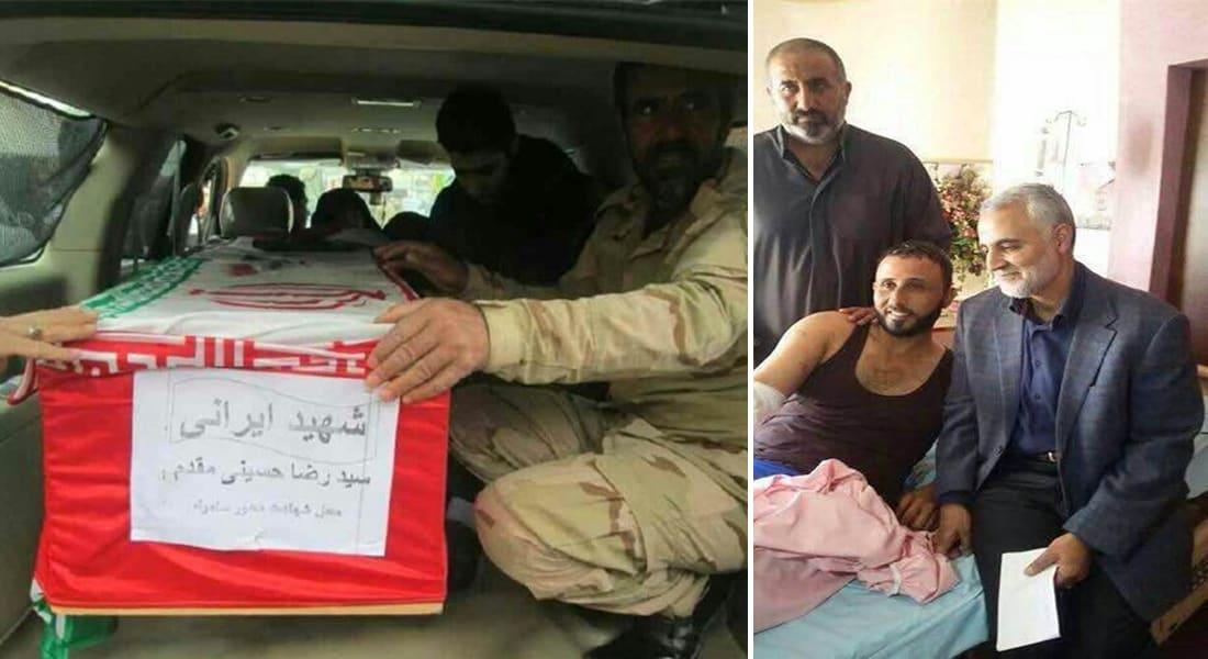مقتل جنرال إيراني برصاص قناص داعشي في سامراء.. وسليماني يزور جرحى المليشيات الشيعية بطهران