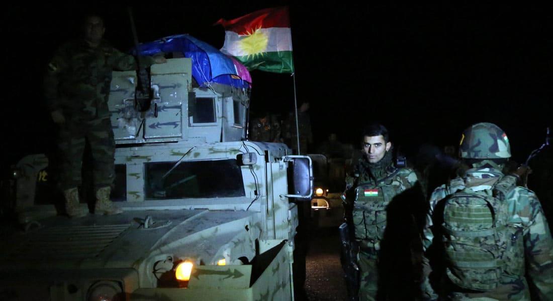 قوات البيشمرغة تسيطر على 3 جسور شمال الموصل بمساندة الجيش العراقي وطيران التحالف