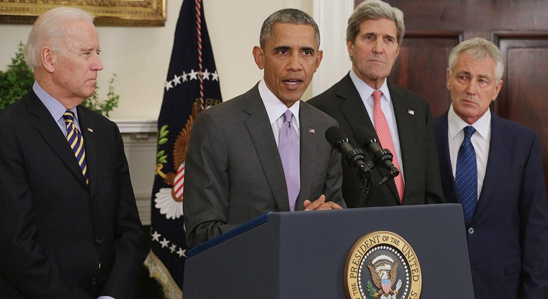 أوباما: التحالف ضد داعش قوي ولن أرسل قوات أمريكية برية إلى الشرق الأوسط أبدا