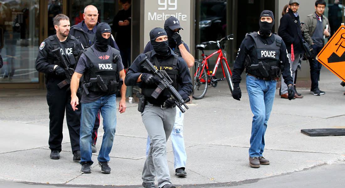 كندا تحبط مخططا لإطلاق النار بمنطقة عامة في عيد الحب