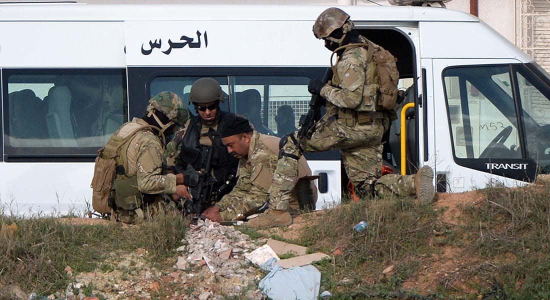 تونس: مقتل 4 من الحرس الوطني في هجوم مسلح قرب الحدود مع الجزائر