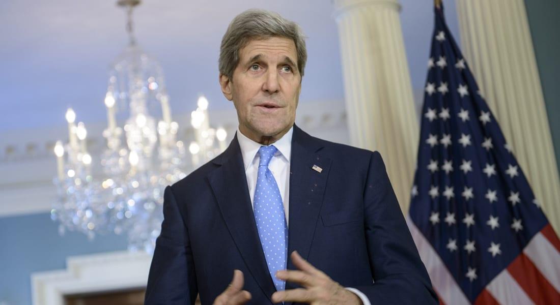 كيري: روسيا مستمرة بالسيطرة على الأراضي الأوكرانية رغم مزاعم دعمها لجهود السلام