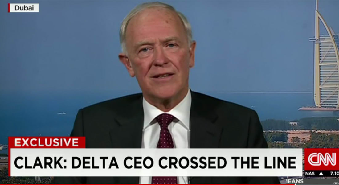رئيس طيران الإمارات لمدير دلتا الأمريكية بعد ربطه الخليج بالإرهاب: هل نسيت تحالفكم مع الخطوط السعودية؟