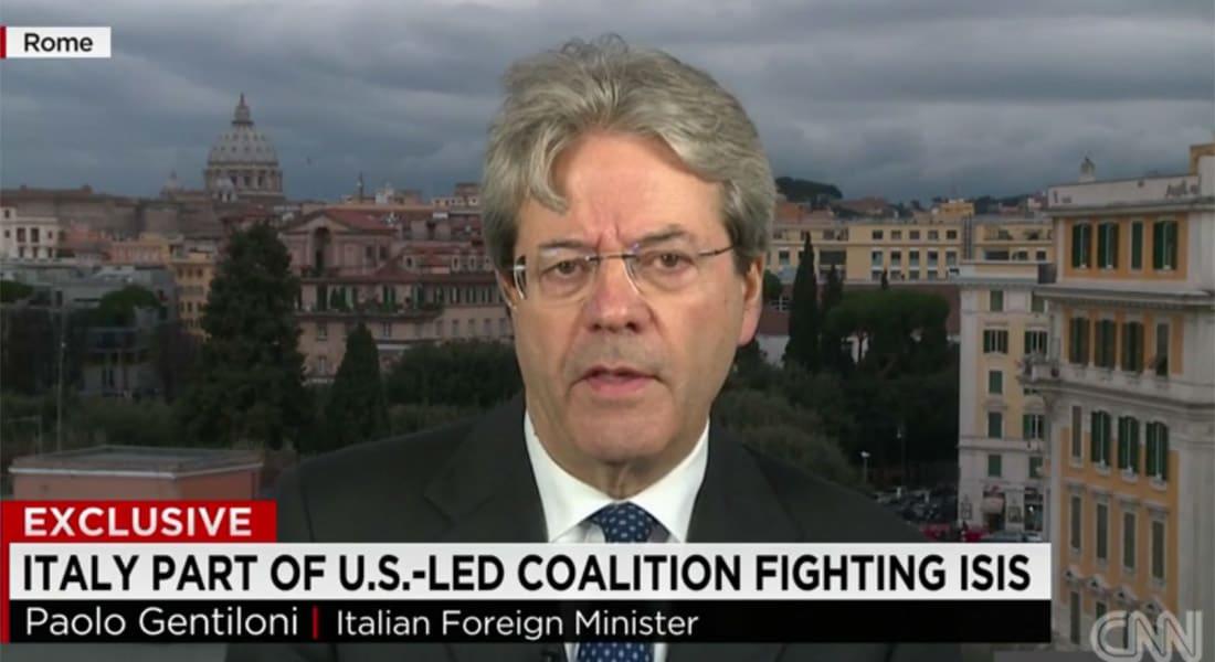 وزير الخارجية الإيطالي بعد وصول داعش إلى مسافة 400 كيلومتر من سواحل بلاده: الوقت ينفد أمامنا