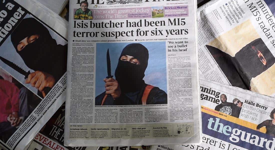 """بعد كشف هويته.. رسائل """"جزار داعش"""" قبل أن يصبح أحد أكثر الإرهابيين المطلوبين في العالم"""
