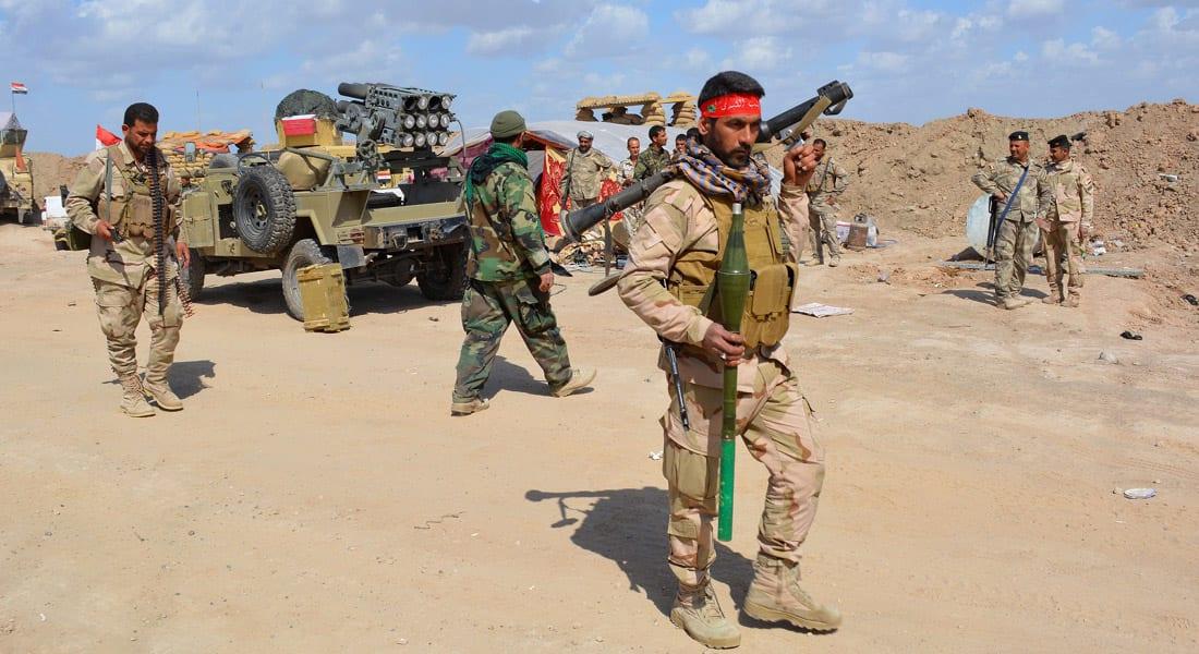 """العراق: 20 ألف مقاتل لتحرير تكريت بعمليات """"لبيك يا رسول الله"""".. وطلائع القوات تدخل شمال المدينة"""