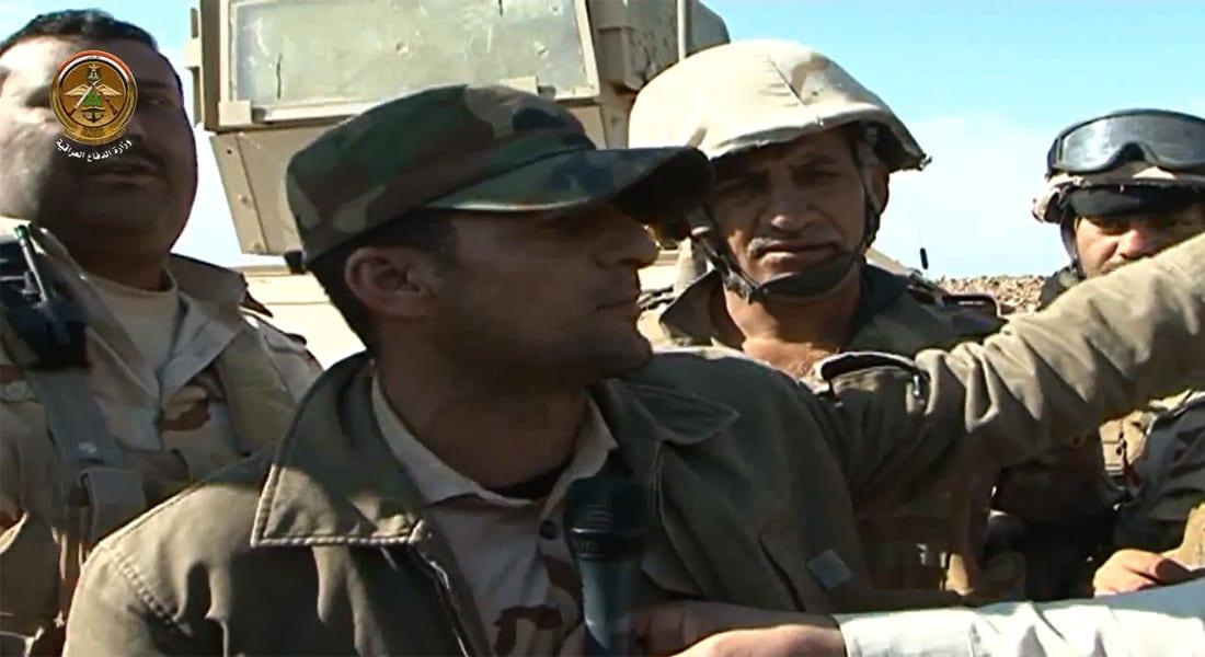 """بالفيديو.. معنويات المقاتلين العراقيين بعملية """"لبيك يا رسول الله"""" لتطهير تكريت من داعش"""