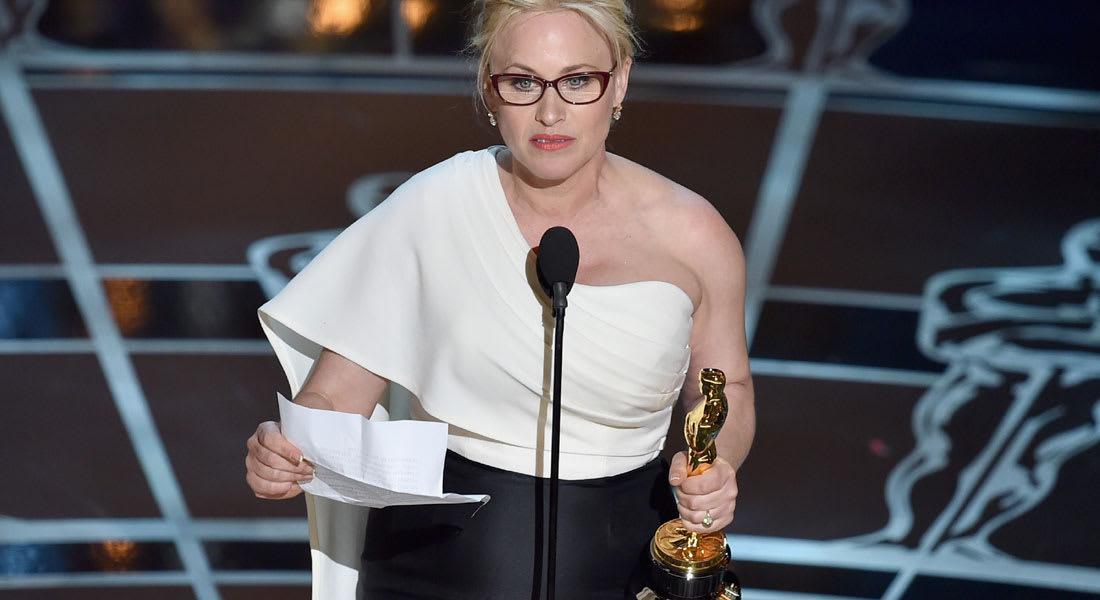 ضجة بعد خطاب لممثلة فازت بالأوسكار حول مساواة الأجور في أمريكا وهوليوود خصوصاً
