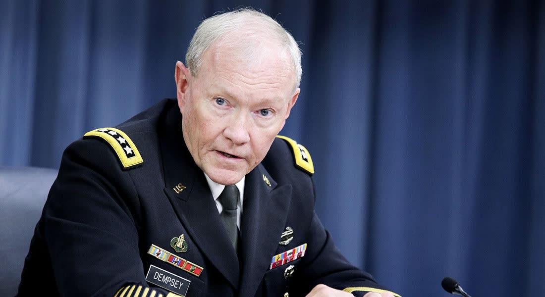 رئيس أركان الجيش الأمريكي يصل العراق لتقييم الأوضاع على الأرض