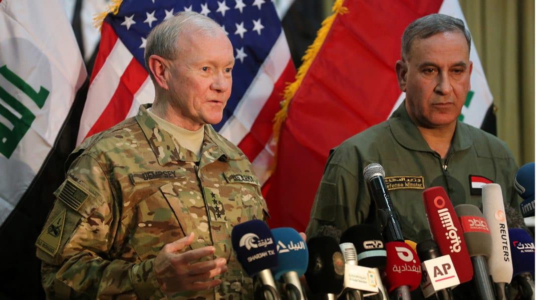 الجنرال ديمبسي: الحرب على داعش عراقية والتدخل البري الأمريكي يجب أن يكون بطلب من الحكومة