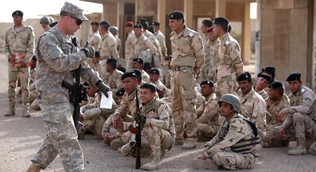 البنتاغون: إصابة جندي أمريكي بجروح بإطلاق نار على قاعدة جنوب شرق بغداد الأربعاء الماضي