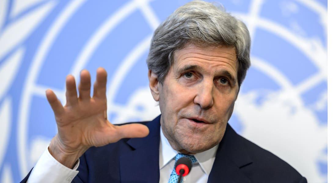 جون كيري: علينا التفاوض مع الرئيس السوري بشار الأسد لإزاحته من السلطة