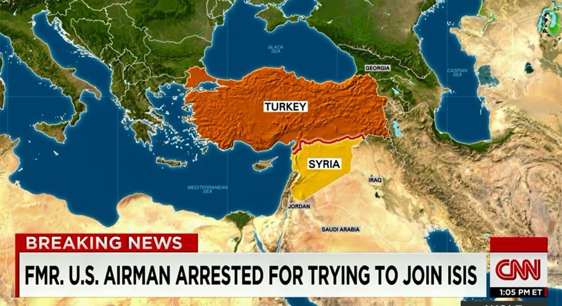 """من مصر إلى تركيا ثم سوريا.. اتهامات بالإرهاب لضابط أمريكي سابق حاول الانضمام لتنظيم """"داعش"""""""