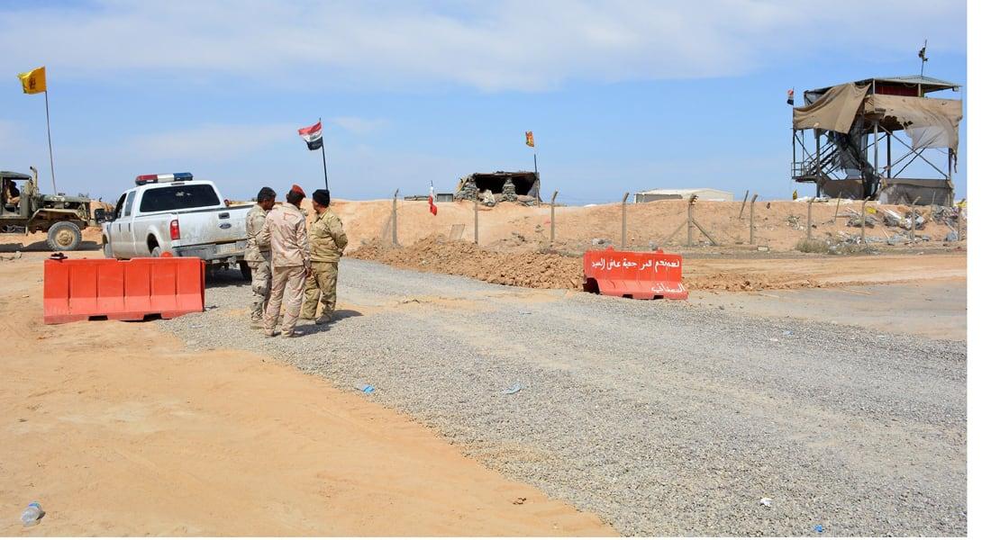 """طيران التحالف يدمر مواقع لـ""""داعش"""" بصحراء الأنبار وتأمين طريق بغداد الرمادي"""