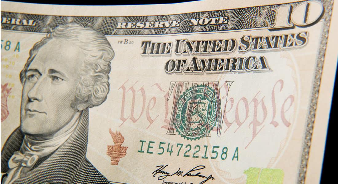 """""""أندرو جاكسون"""" في مأمن.. العملة النقدية فئة 10 دولارات بحلة جديدة في 2020"""