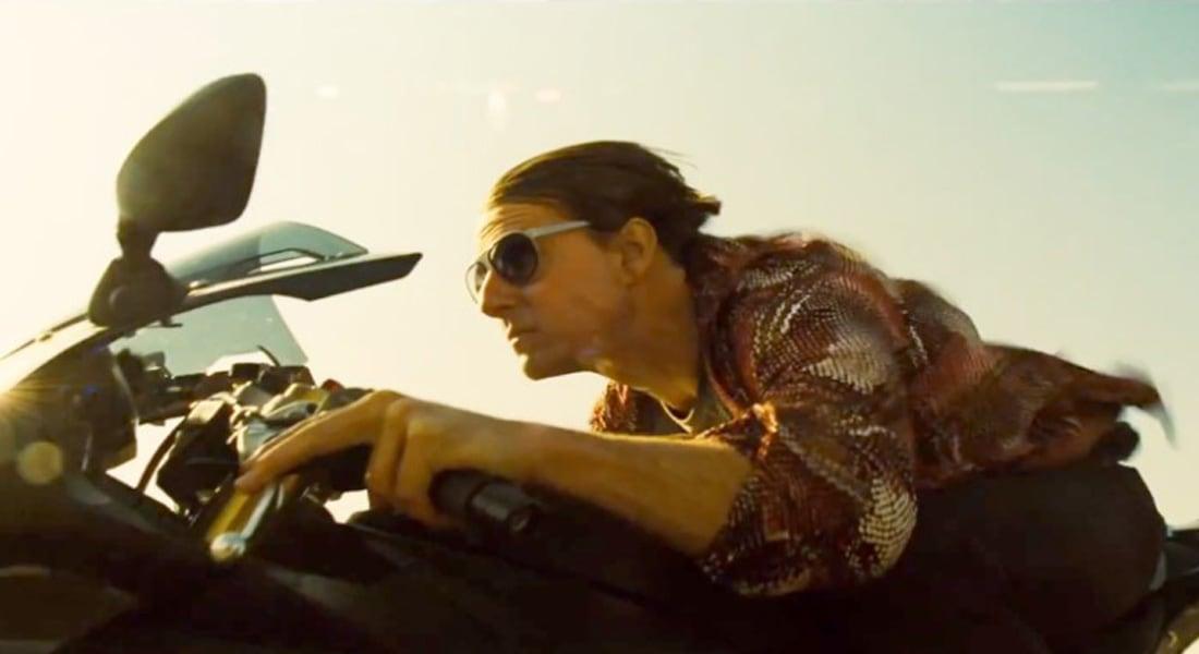 """توم يعرض لقطات من فيلمه الجديد """"المهمة المستحيلة 5: دولة مارقة"""""""