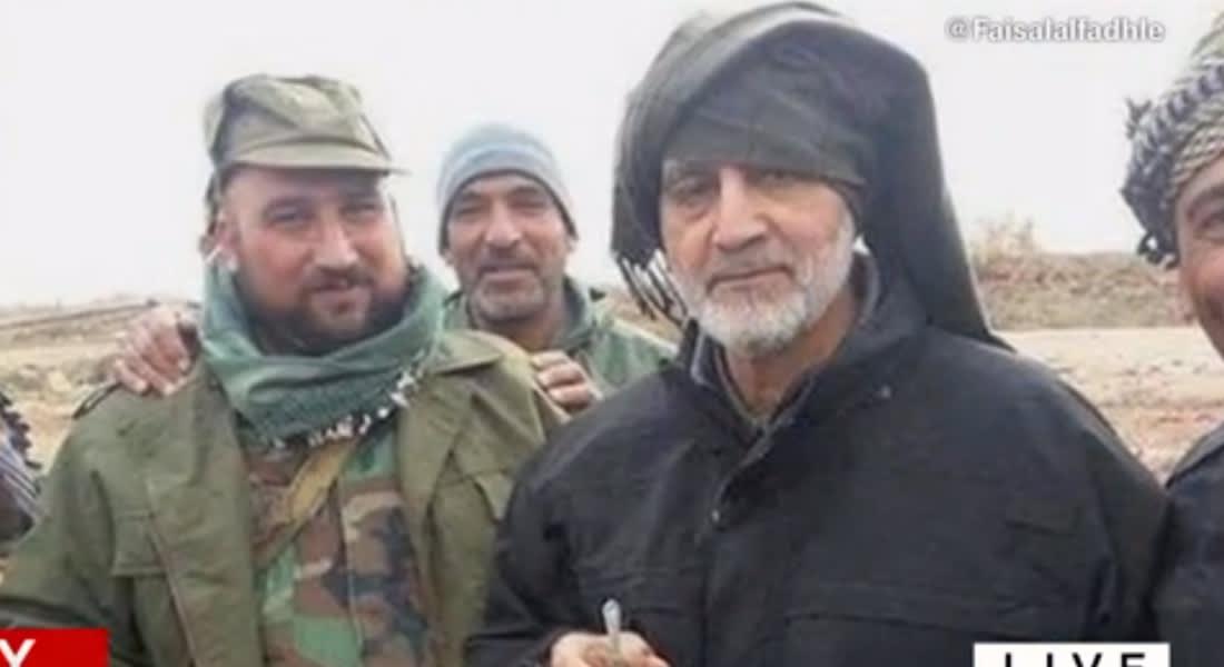 """إيران تسارع لنفي تصريحات منسوبة لقاسم سليماني حول """"ثورة إسلامية"""" بالأردن توجهها طهران"""
