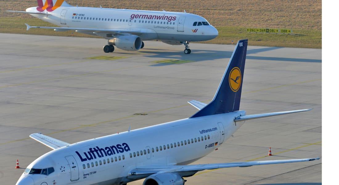 """""""لوفتهانزا"""" تكشف سببين لتأخير الرحلة 9525 و""""الألمانية"""" تلغي رحلات بسبب الطواقم"""