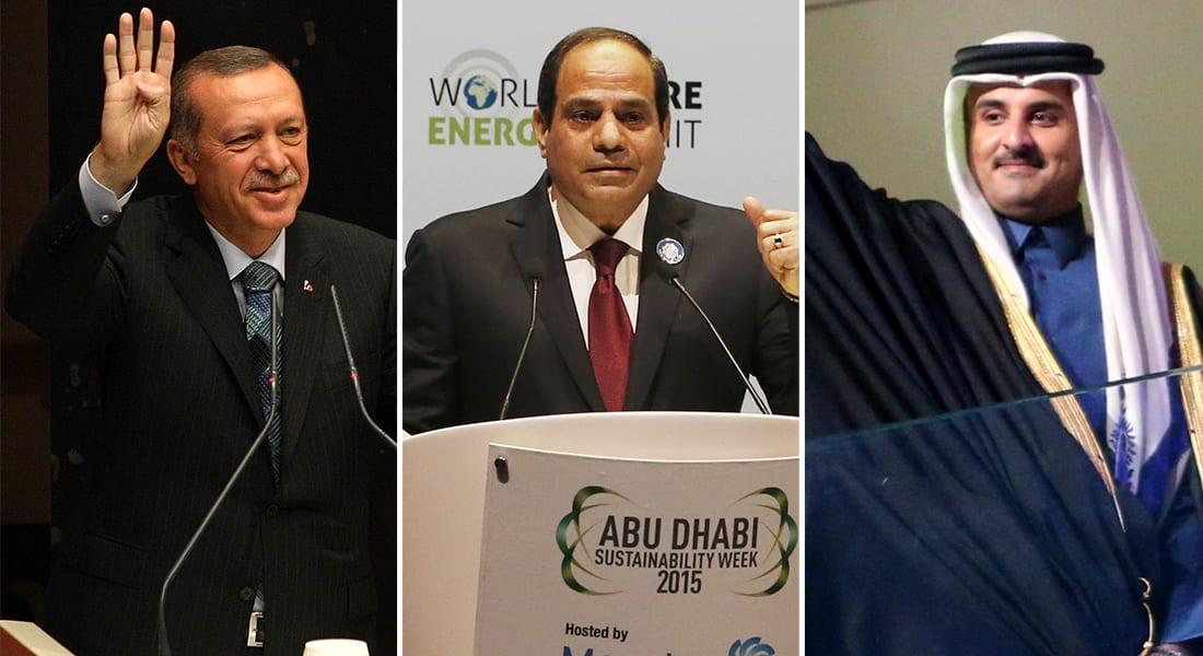 الحوثيون وتمدد إيران يضع خصوم الأمس بخندق واحد: السيسي وأردوغان والشيخ تميم بحلف واحد تقوده السعودية