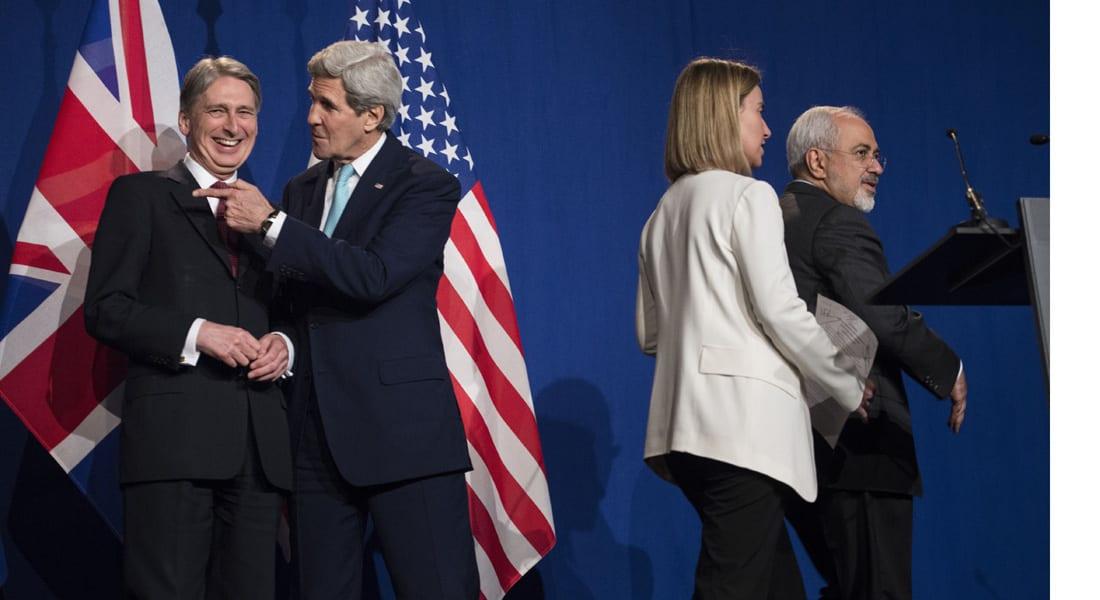 كيري: الاتفاق مع إيران أساس لصفقة جيدة .. هاموند: الاختلافات بقضايا أخرى مستمرة