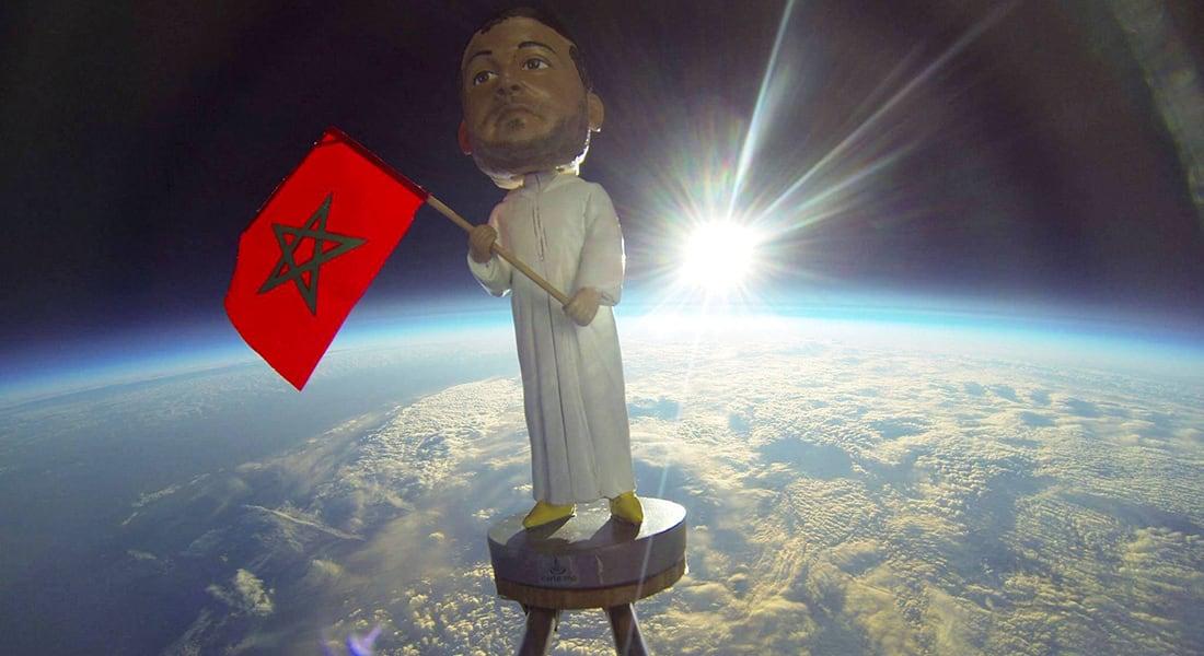 مروان لمحزري.. المغربي الذي أوصل علم بلده إلى الفضاء بطريقة بسيطة وذكية