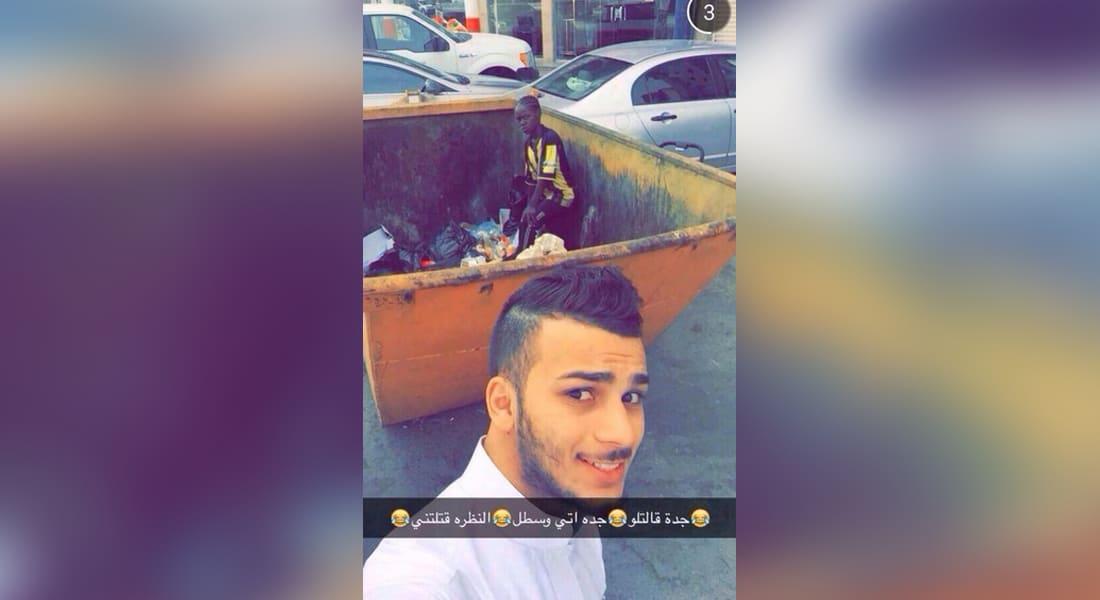 صورة طفلة بحاوية قمامة تثير غضب المغردين في السعودية.. وملتقطها يعتذر