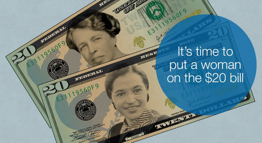هل يمكن أن نرى امرأة على عملة الـ 20 دولار قريباً؟