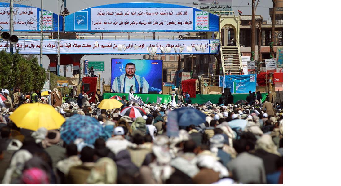 الحوثي: لن نخضع للتهديد ولن نخلي المدن .. هادي تحالف مع القاعدة والسعودية خادم لأمريكا