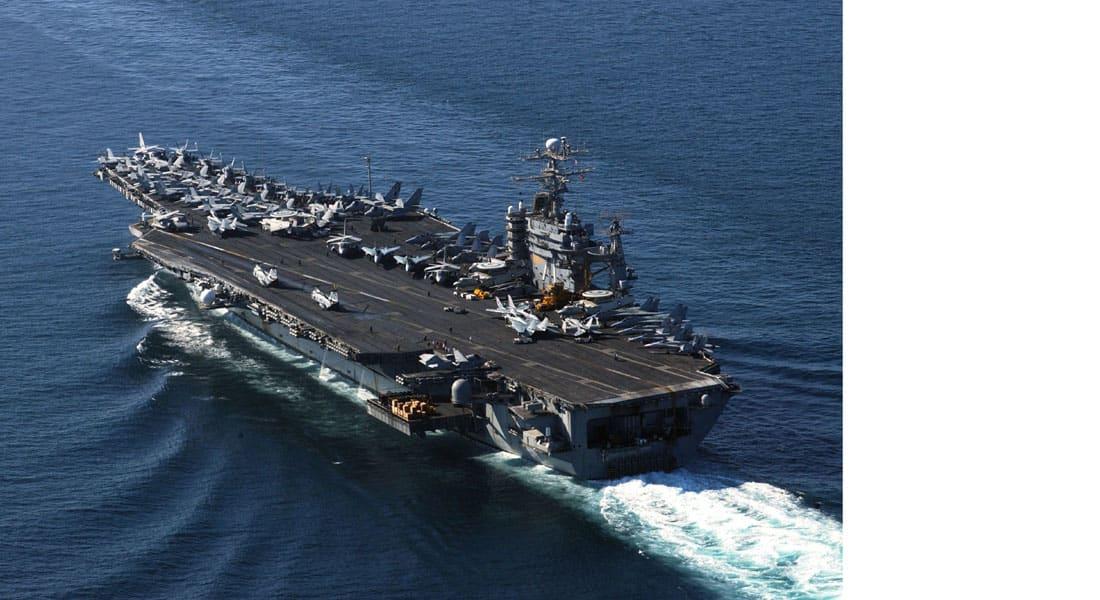 البحرية الأمريكية تعزز وجودها في بحر العرب وخليج عدن بحاملة الطائرات ثيودور روزفلت