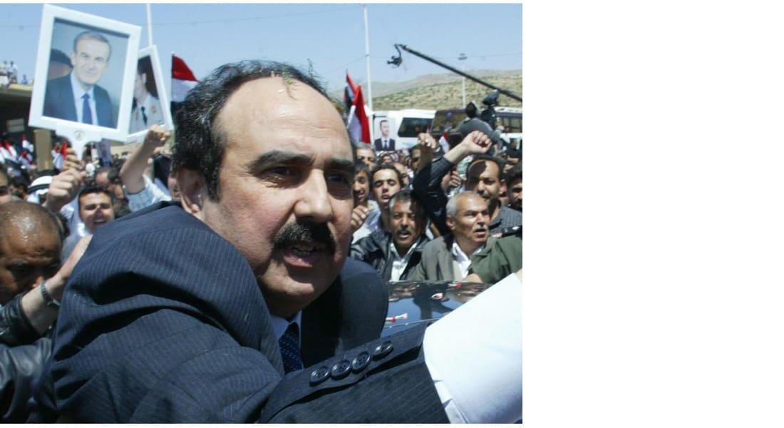 وفاة اللواء رستم غزالي الذي كان أحد أبرز أعمدة النظام السوري وذراعه القوي في لبنان