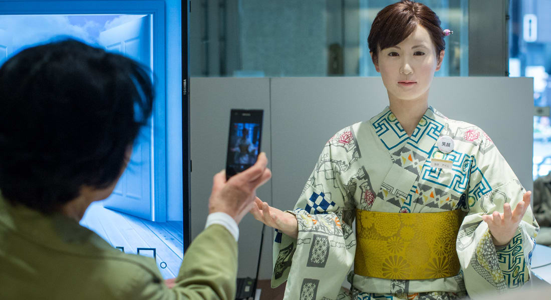 """باليابان.. القوى العاملة """"تهرم"""" والروبوتات قد تهيمن على الوظائف"""