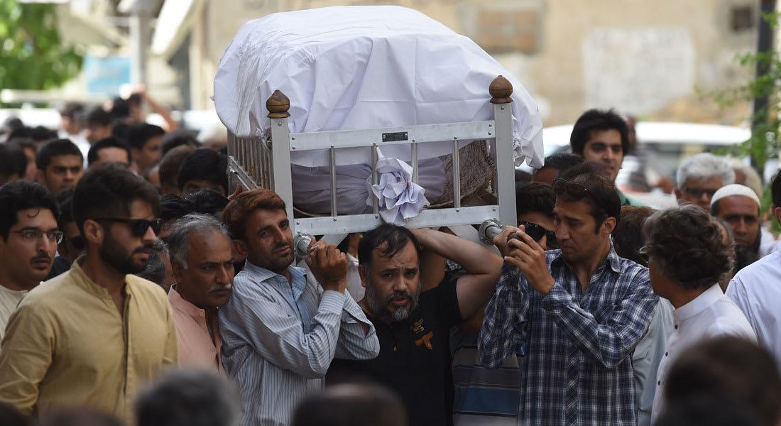 """باكستان تبكي""""أشجع امرأة في العالم"""""""
