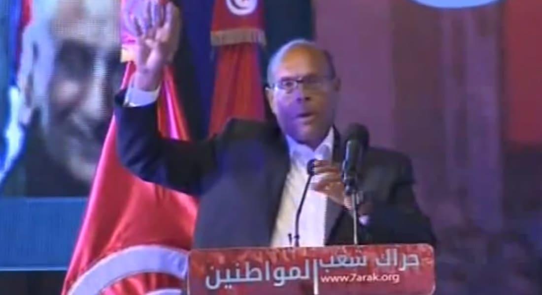 """أسرة مرسي توجه التحية لرئيس تونس السابق المنصف المرزوقي لدعمه الرئيس المعزول ورفعه شعار """"رابعة"""""""