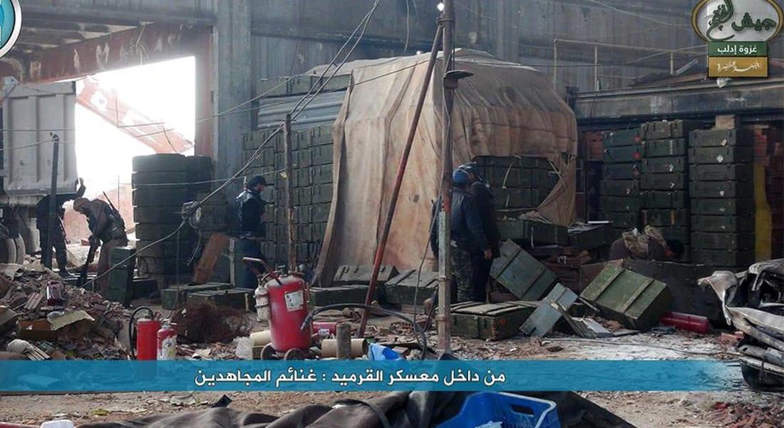 معارضون: نظام الأسد يتلقى ثالث خسارة قاسية في إدلب خلال أيام وطائراته ترد بالبراميل المتفجرة