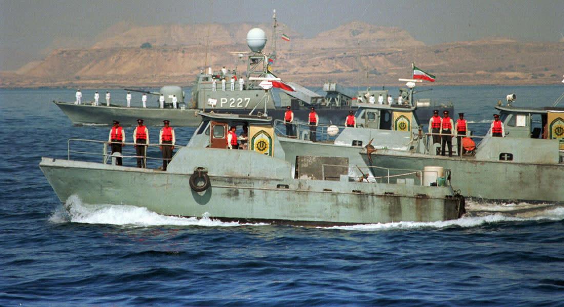 """إيران: السفينة المحتجزة أمريكية ترفع علم جزر المارشال وسفن إيرانية تصحبها إلى """"بندر عباس"""""""