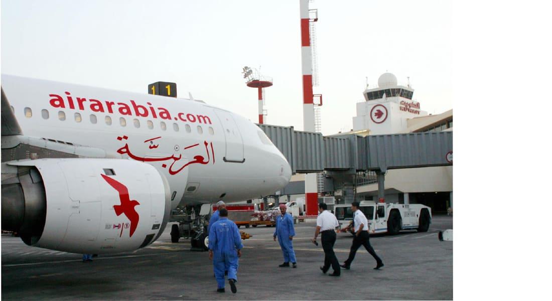 """الإمارات توجه طائرة """"العربية"""" للهبوط بقاعدة جوية بعد تلقي تحذير من انفجارها"""
