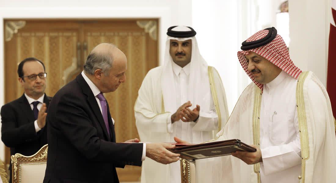 قطر توقع عقدا مع فرنسا لشراء 24 مقاتلة رافال