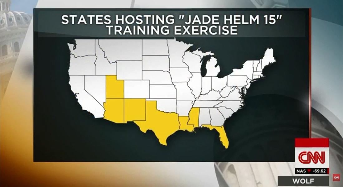 أمريكا.. تدريبات عسكرية ضخمة تثير ضجة على مواقع التواصل الاجتماعي: يريدون احتلال تكساس