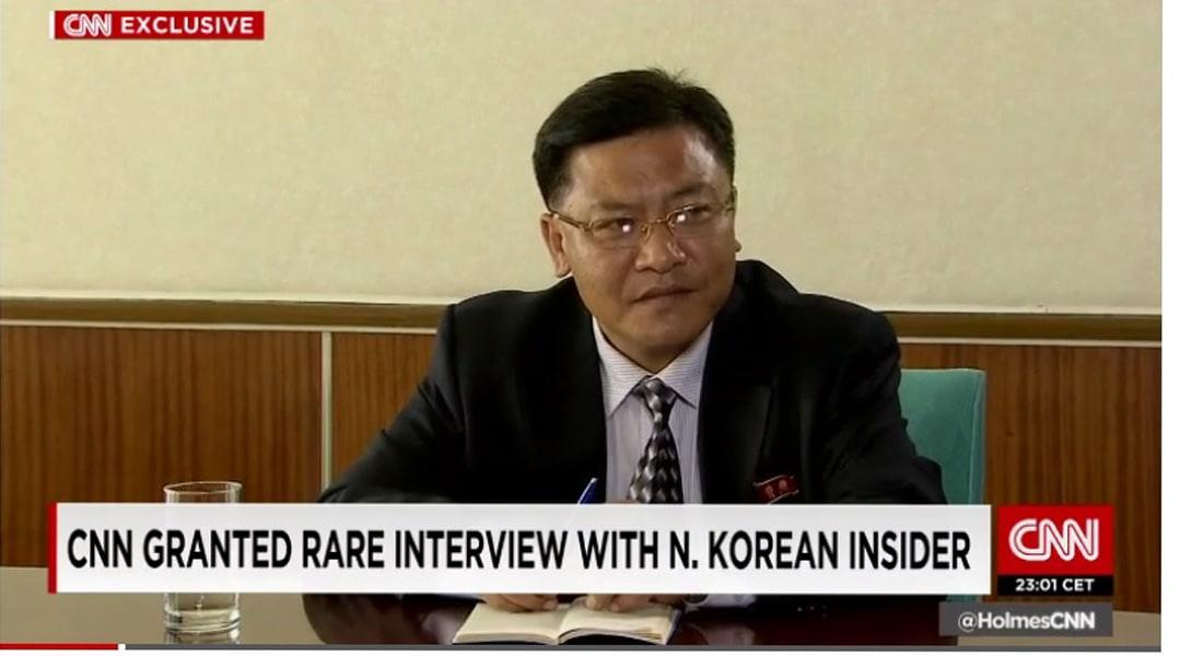 """في مقابلة نادرة وحصرية مع CNN.. مسؤول كوري شمالي: سنستخدم السلاح النووي إذا """"اضطرتنا"""" أمريكا لذلك"""
