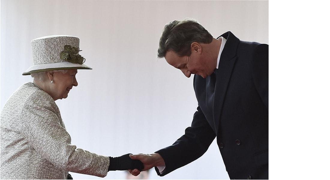 بعد فوز حزبه بالأغلبية ..كاميرون يقابل الملكة ويعلن أنه سيشكل حكومة المحافظين البريطانية