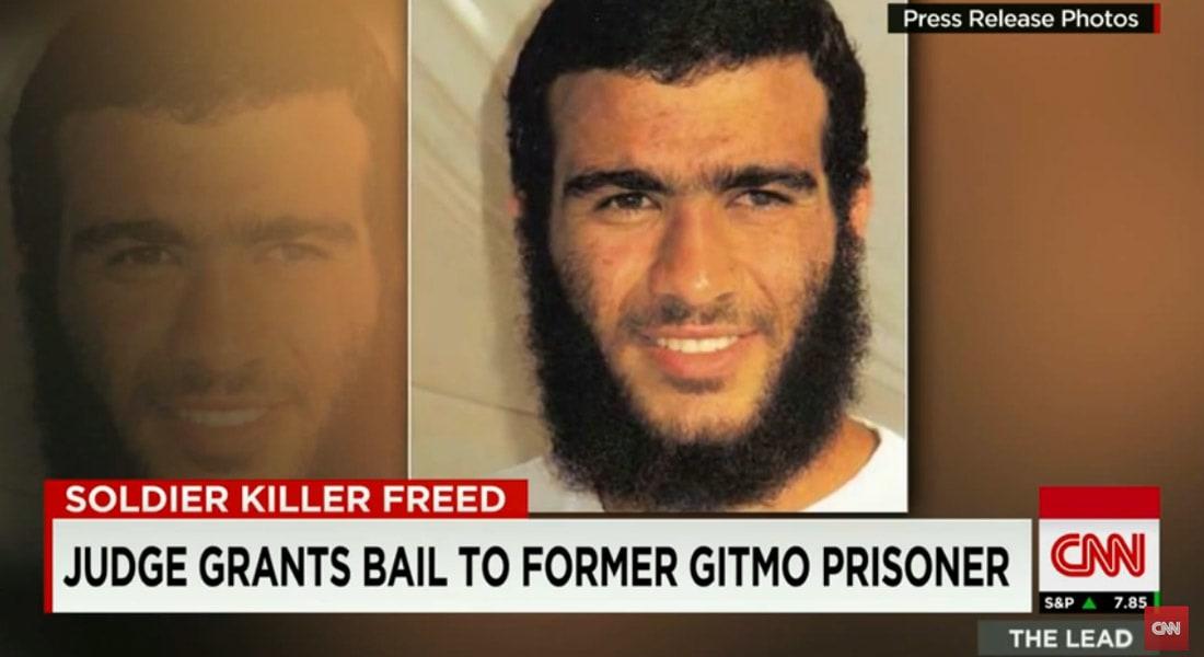 القضاء الكندي يطلق سراح عمر خضر قاتل جندي أمريكي في أفغانستان
