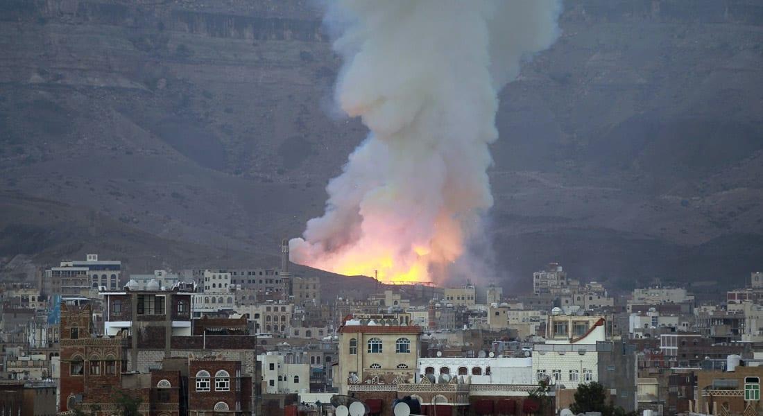 اليمن.. 25 غارة للتحالف تستهدف مخزناً للأسلحة بـ10 دقائق وأنباء عن سقوط 43 قتيلاً بصنعاء وتعز وحجة