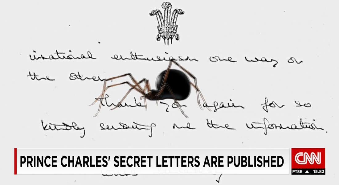 """ماذا احتوت ملاحظات """"العنكبوت الأسود"""" التي وجهها الأمير تشارلز إلى أعضاء بالحكومة البريطانية؟"""