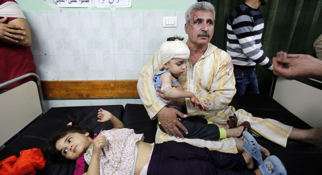 """مأساة جديدة في غزة.. انفجار صاروخ من مخلفات """"الجرف الصامد"""" بموقع لحماس يوقع عشرات الضحايا"""