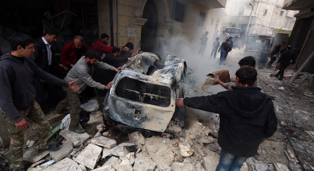 """المرصد السوري: 48 قتيلاً بينهم أطفال ونساء في """"مجازر"""" لقوات النظام بإدلب وريف دمشق"""