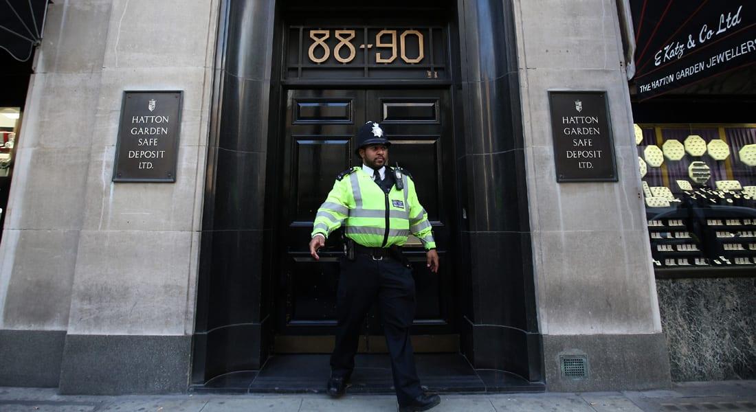 """بريطانيا.. اعتقال 7 مشتبهين بـ""""أكبر"""" عملية سرقة مجوهرات في لندن"""